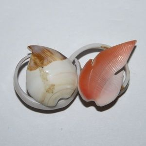 Vintage Sea Shell Brooch